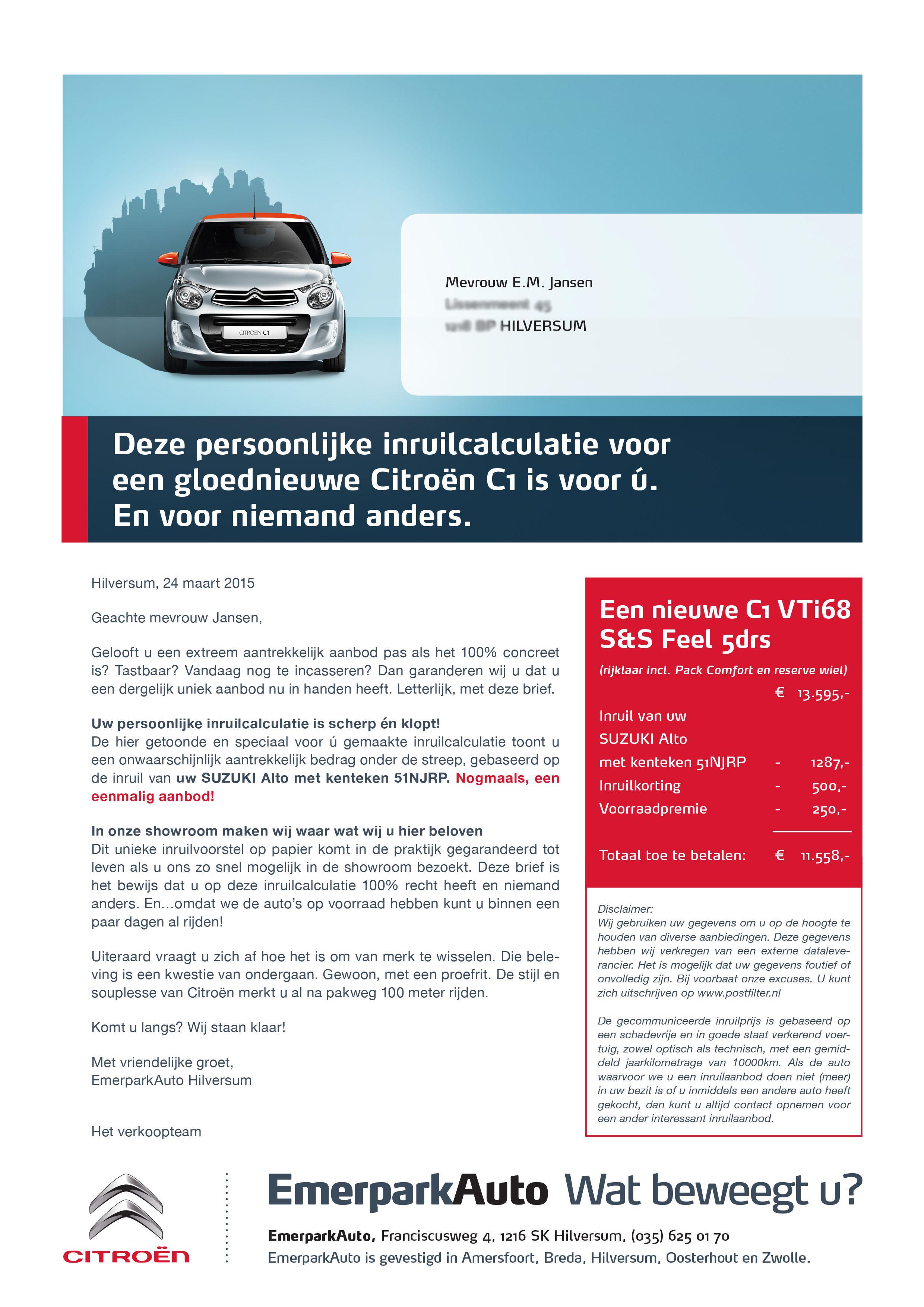 017 EmerparkAuto - Mailing C1_hilversum_A4-1