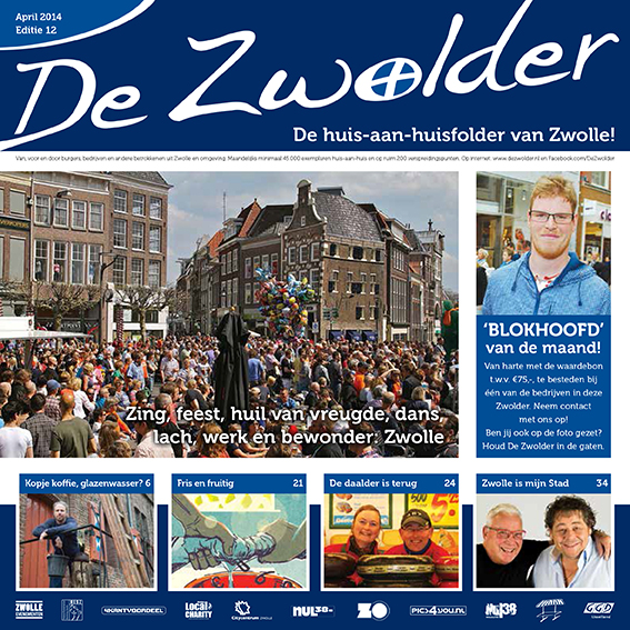 Cover De Zwolder april 2014
